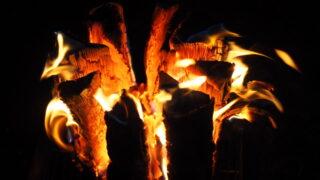 薪割り・囲炉裏体験
